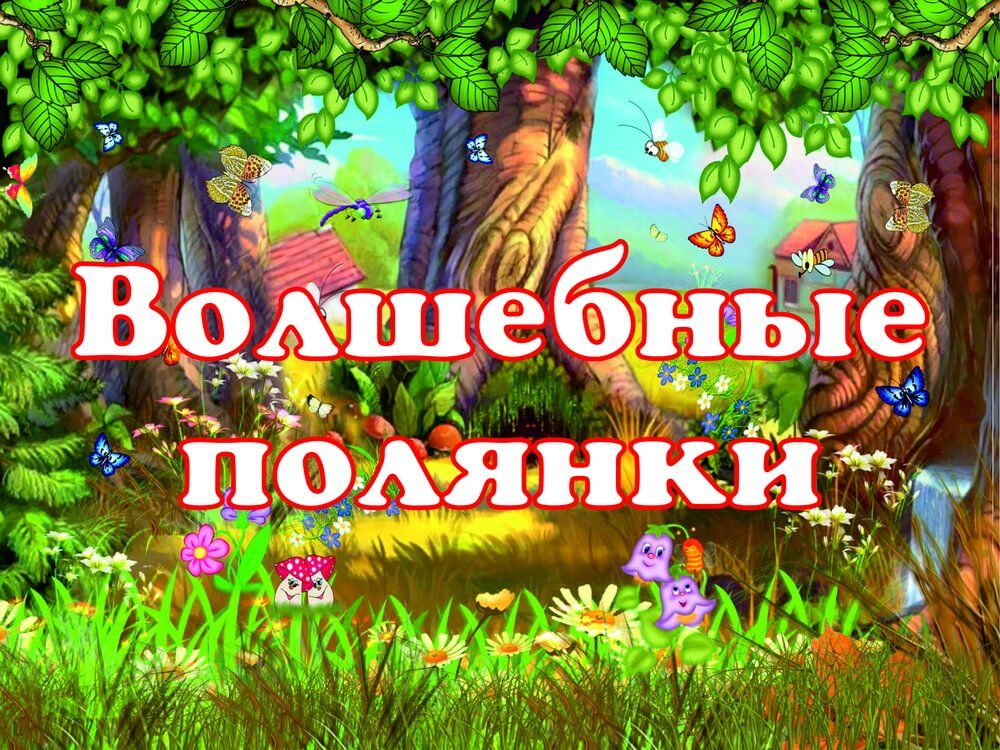 Волшебные полянки