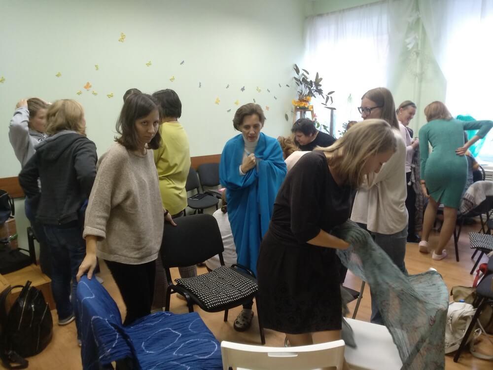 Прошла первая встреча курса обучения Детской психологии