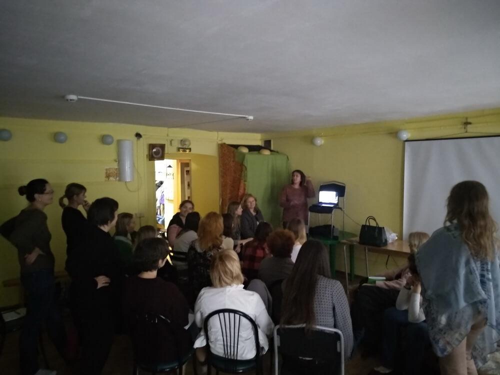 Прошла вторая встреча курса обучения Детской психологии