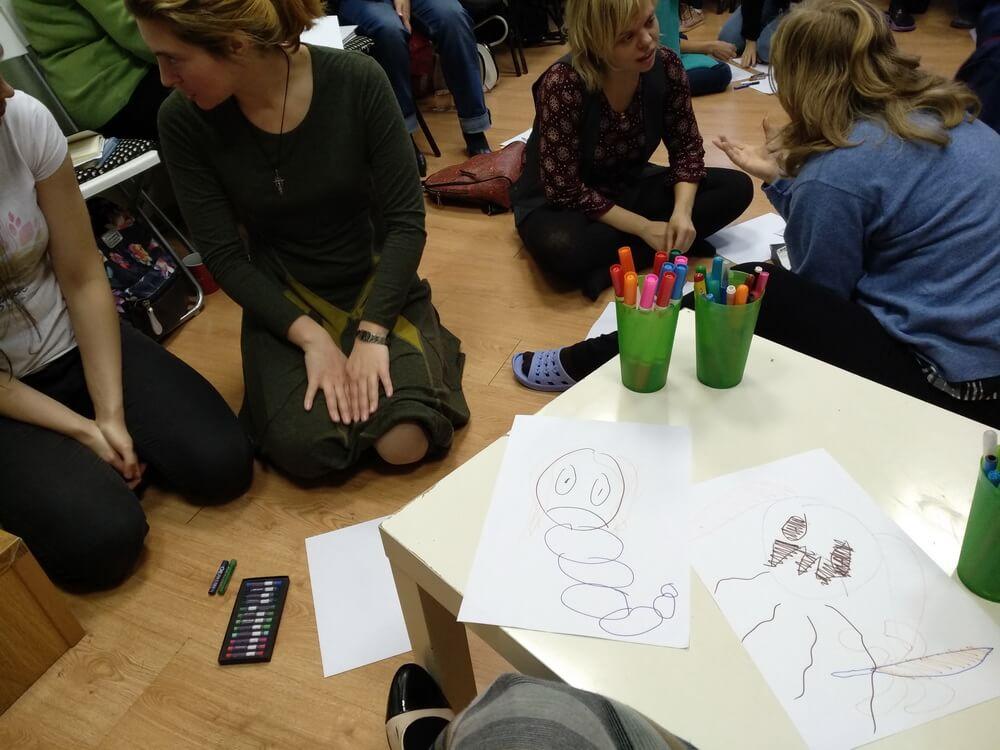 Прошла третья встреча курса обучения Детской психологии