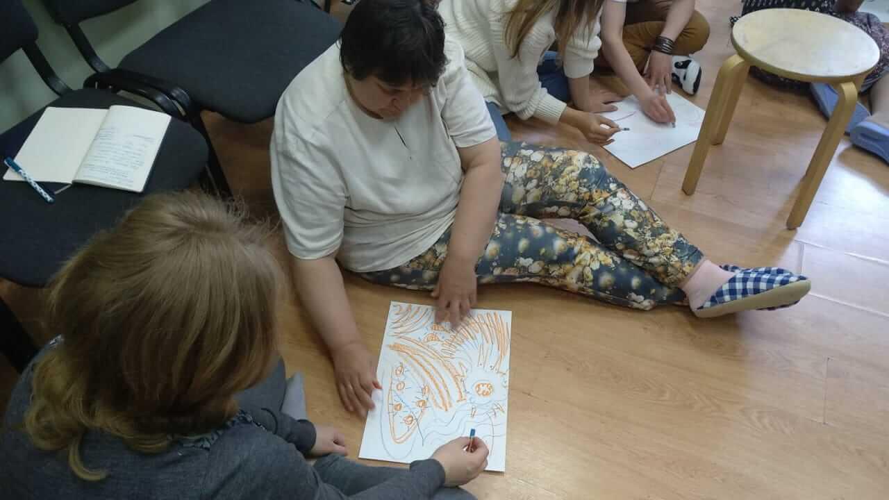 Прошла девятая встреча курса обучения Детской психологии
