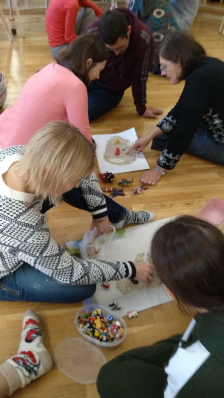 Прошла первая встреча курса обучения Детской психологии 2019-2020