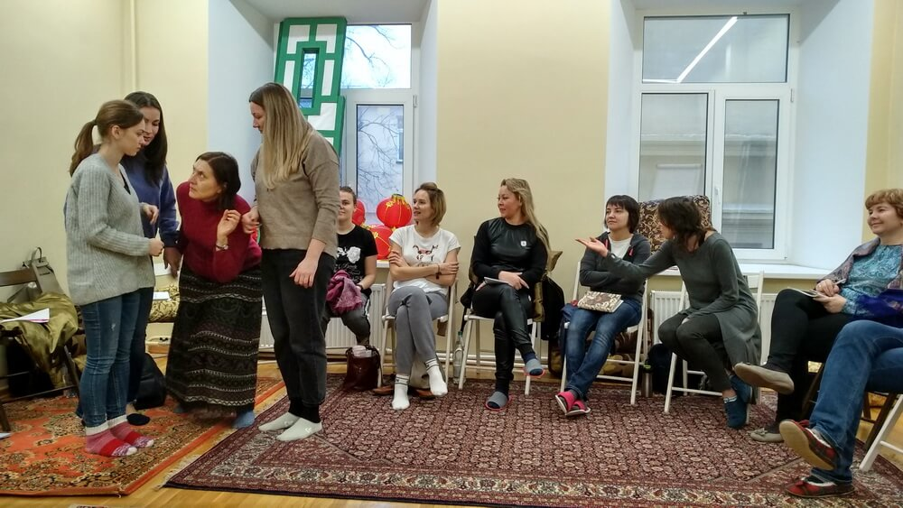 Прошла четвертая встреча курса обучения Детской психологии 2019-2020