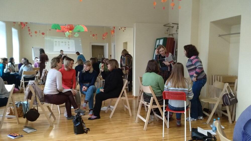 Прошла пятая встреча курса обучения Детской психологии 2019-2020